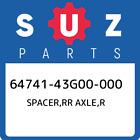 64741-43G00-000 Suzuki Spacer, Rr Axle, r New Genuine OEM Part