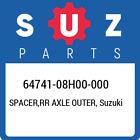 64741-08H00-000 Suzuki Spacer, Rr Axle Outer New Genuine OEM Part