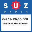 64731-19A00-000 Suzuki Spacer, Rr Axle Bearing New Genuine OEM Part