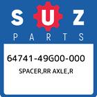 64741-49G00-000 Suzuki Spacer,rr axle,r 6474149G00000, New Genuine OEM Part