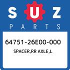 64751-26E00-000 Suzuki Spacer,rr axle,l 6475126E00000, New Genuine OEM Part