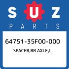 64751-35F00-000 Suzuki Spacer,rr axle,l 6475135F00000, New Genuine OEM Part