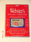 FRANKLIN Next Century WEBSTER'S Spelling Corrector NCS-101 *SEALED NEW* NR