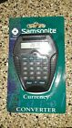 Samsonite Currency Converter - SM1548 - Travel Accessory New in Package