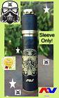 AV Avid Lyfe Black Brass Gas Mask    ABLE SLEEVE ONLY!      aka Cloud Trooper v2