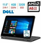 "2018 Newest Dell Inspiron 3000 11.6"" 2-in-1 Touchscreen Laptop/Tablet PC, 7th Ge"