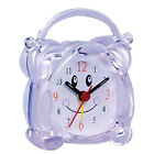 Mini Travel Alarm Clock Portable Table Desk Snooze Clock with Night Light 01