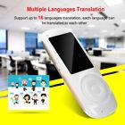 Intelligent Translator 16 Languages Instant Voice Pocket Device Travel Trans ES