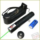 G851 532nm Fixed Focus Green Laser Pointer Visible Beam & Star & Battery&Charger