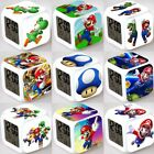 Super Mario Figures 7 Color Changing LED Night Light Alarm Clock Watch Toy Gift