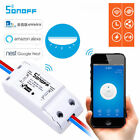 New Sonoff ITEAD WiFi Wireless Smart Switch Module Shell ABS Socket For Home