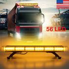 "30"" 56 LED Warning Strobe Light Bar Flash Work Tow Response Roof Emergency Lamp"