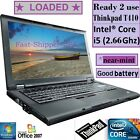 ✿near-MINT❀ Lenovo Thinkpad T410 Core i5 2.66GHz Windows 7 Pro BUSINESS laptop