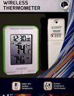Indoor/Outdoor La Crosse Wireless Thermometer w/Min/Max/Trending #308-1410GR NIB