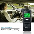 Portable Digital Breathalyzer Alcohol Breath Test Mouthpiece Device Tester Black