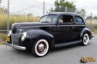 1940 Ford Deluxe Slantback 2Dr Resto-Rod 1940 Ford Deluxe 2dr Slantback Retro-Rod Hopped-Up Merc Flathead C4 Automatic