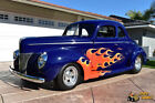 """1940 Ford Deluxe Coupe Historic So-Cal Hot Rod 1940 Ford Deluxe Business Cpe IFS AC PS Ford 460 C6 9"""" Historic So-Cal Hot Rod"""