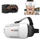 VR Box 3D Movies & Games Headset Virtual Reality Glasses For iPhone Samsung