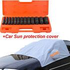 "13 Pc 1/2"" Deep Impact Socket Tool Set Metric Garage+ car Sun protection cover"