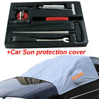 7 PCS Professional Automotive Windshield Removal Tool + car Sun protection cover