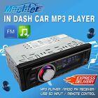 Car Stereo Audio  In-Dash FM Aux Input Receiver SD USB MP3 Radio 87.5-108.0MHZ