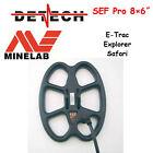 Detech SEF Pro 8×6″ coil for Minelab E-Trac/Explorer/Safari