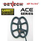 Detech SEF Pro 8×6″ coil for Garrett Ace Series Metal Detectors