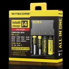 NITECORE New i4 Intellicharger Li-ion Ni-MH Smart Charger 4 Slot 18650 NiCd