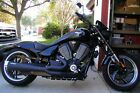 2012 Victory Hammer  2012 Victory Hammer 8 Ball Motorcycle BIG rear tire Bobber style