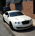 2006 Bentley Continental GT  2006 Bentley Continental GT 2dr Coupe Pearl White