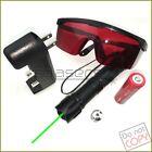G009 532nm Adjustable  Green Laser Pointer Visible Laser Torch & Battery&Charger