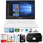 "LG gram 14.0"" Intel 8th Gen i5-8250U Ultra-Slim Laptop +Software +Printer Bundle"