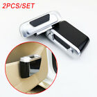 Pair Universal Mini Auto Car Garbage Dust Case Holder Box Bin Trash Rubbish Can