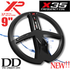 NEW!! XP DEUS X-35 9 INCH DD WATERPROOF COIL FREE SHIPPING!! V5.0