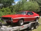 1973 AMC Javelin AMC JAVELIN 1973 AMC JAVELIN PULLED FROM GARAGE AFTER ALMOST 20 YEARS!  100% ORIGINAL