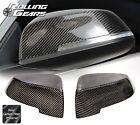 Carbon Fiber Side Mirror Cover Cap For 14-16 BMW F10 F11 5er 523 528 530 535 550