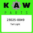 23025-0049 Tail Light Kawasaki, New Genuine Part