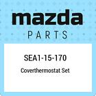SEA1-15-170 Mazda Coverthermostat set SEA115170, New Genuine OEM Part
