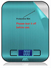 Digital Food Scale, 1g/0.002lbs to 5kg/11 lbs Accurate Weight Measurement Stainl