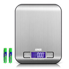 AMIR Digital Kitchen Scale, 5kg, 0.05oz/ 1g Cooking, Accuracy Food, 6 Units, Bac