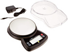 Jennings CJ-4000 Compact Digital Weigh Scale 4000g x 0.5g PCS JScale Black AC Ad