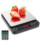 Digital Kitchen Scale with Red LED Display, Sooreally High Definition Multifunct