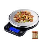 Lumsing Digital Kitchen Scale, Multifunction Stainless Steel Food with LCD Displ
