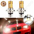 2x H4 Cree LED 54 Chip SMD 60W 6000LM Lamp HID Xenon Light 6000K Driving White