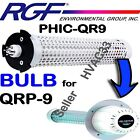 "PHIC-QR9 RGF REPLACEMENT BULB for QRP-9 Guardian 9"" CELL Reduce Allergy Pollen"