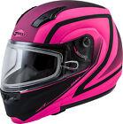GMAX MD-04S Modular Docket Snow Helmet XS Matte Hi-Vis Pink/Black