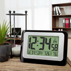 Digital Atomic Calendar Clock with Indoor Temperature