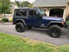 2006 Jeep Wrangler Unlimited 2006 Jeep Wrangler Unlimited 2 Door Midnight Blue 97000 Miles LJ TJ LWB