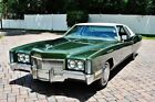 1971 Cadillac Eldorado Coupe 1971 Cadillac Eldorado One Owner, Original Interior, Power Steering & Brakes,