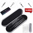 6Pcs/Set Stainless Steel Ear Pick Wax Curette Earwax Remover Cleaner Ear Pick